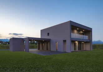 Casa design prefabbricata ad alto risparmio energetico