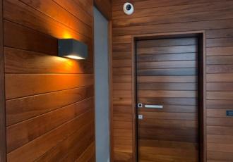 casa di design in legno