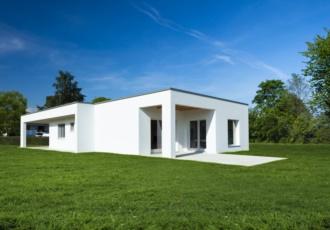 Casa prefabbricata ecosostenibile in stile moderno certificata Casaclima-A - Udine