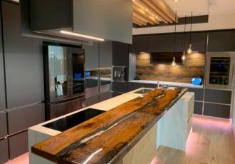 cucina top particolare design casa in legno