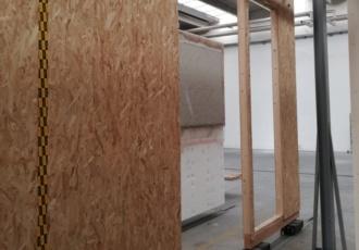pareti sistema a telaio