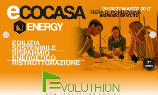 Ecocasa Energy 2017 presso la Fiera di Pordenone