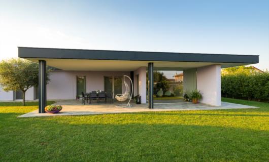 Casa prefabbricata ecosostenibile di design ad alto risparmio energetico