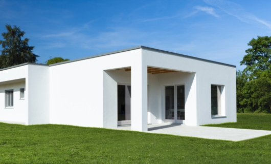 Casa moderna prefabbricata a telaio