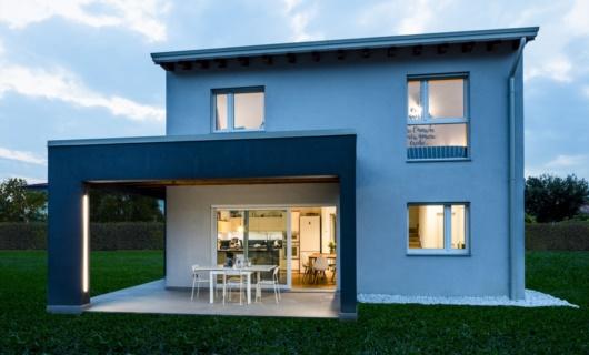 Casa in legno a telaio Fiume Veneto