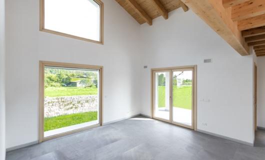 casa prefabbricata ad alto risparmio energetico