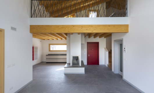 Casa in legno progettata su misura